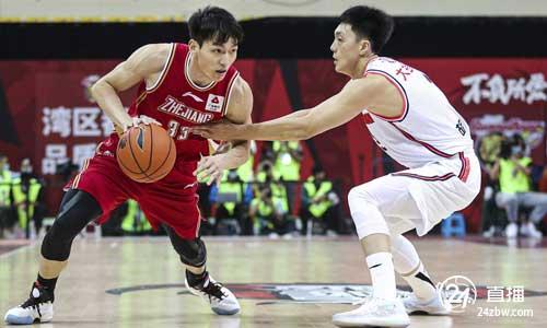 揭幕战:吴前39分14助浙江25分大胜卫冕冠军广东