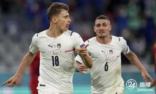巴雷拉:意大利中场的每个人都首发。对西班牙的比赛将是一场精彩的比赛