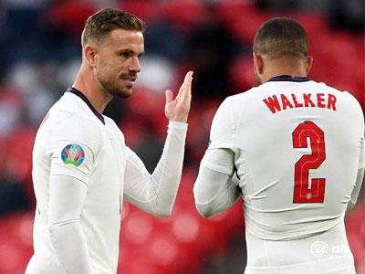 亨德森:英格兰有信心在决赛中战胜意大利