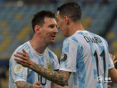 迪马利亚进球,阿根廷1:0击败巴西,梅西梦见美国杯
