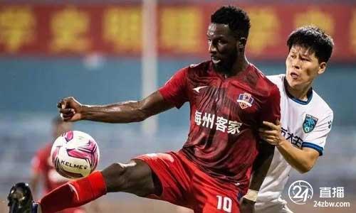 申花官方:梅州客家外援前锋邓比亚加入球队