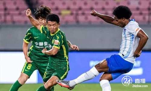 张玉宁进一球,每队罚一球,北京国安1-3输给天津金门老虎队