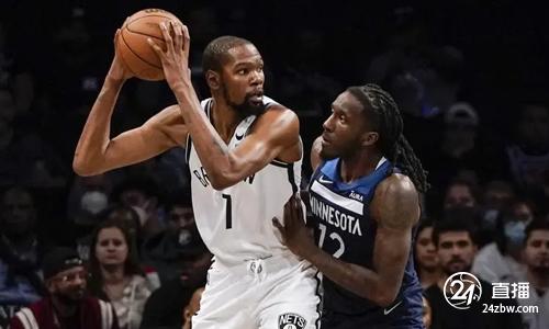 NBA季前赛-杜兰特19+7,哈登14次助攻,网队主场击败森林狼
